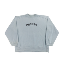 Load image into Gallery viewer, Reebok spellout Sweatshirt - Large