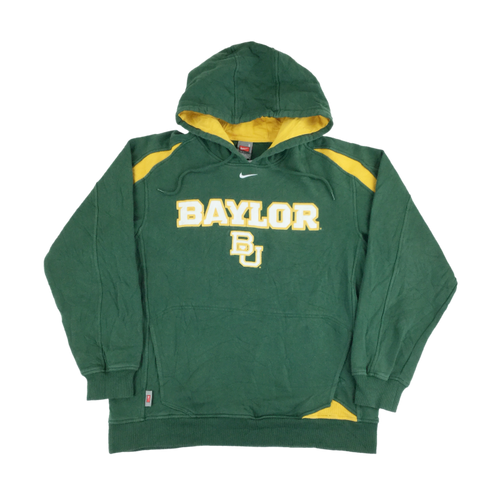 Nike Center Swoosh Baylor Hoodie - Medium