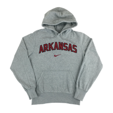 Load image into Gallery viewer, Nike Center Swoosh Arkansas Hoodie - Small