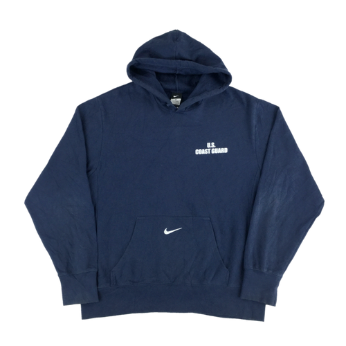 Nike Center Swoosh Coast Guard Hoodie - Large