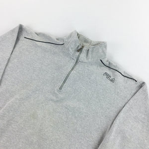 Fila 1/4 Zip Sweatshirt - Medium