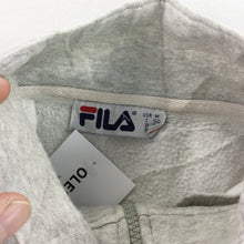 Load image into Gallery viewer, Fila 1/4 Zip Sweatshirt - Medium