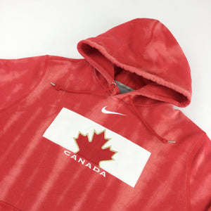 Nike Center Swoosh Canada Hoodie - Large