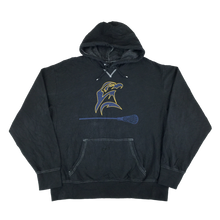 Load image into Gallery viewer, Nike Center Swoosh Ravens Lacrosse Hoodie - XL