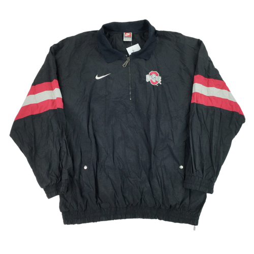 Nike 90s Swoosh Ohio State 1/4 Jacket - XL