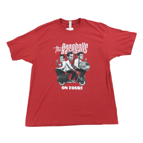 The Baseballs 2010 Tour T-Shirt - XL