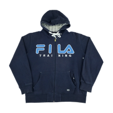 Load image into Gallery viewer, Fila Training Zip Hoodie - Large
