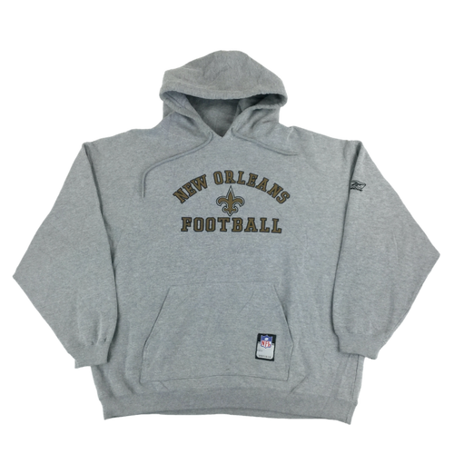 Reebok NFL New Orleans Football Hoodie - XL