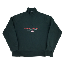 Load image into Gallery viewer, Ralph Lauren Polo Sport 1/4 Zip Sweatshirt - XL