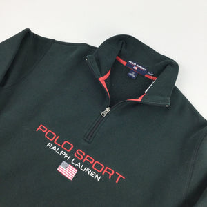 Ralph Lauren Polo Sport 1/4 Zip Sweatshirt - XL