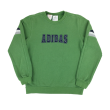 Load image into Gallery viewer, Adidas Spellout Sweatshirt - Woman/Medium