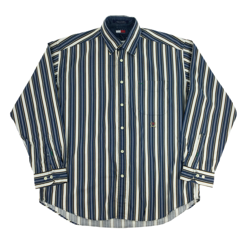 Tommy Hilfiger 90s Shirt - Large