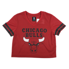 Load image into Gallery viewer, NBA Chicago Bulls Crop Top - Womens/Medium
