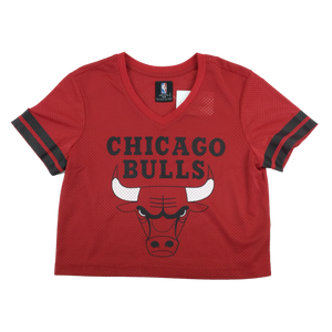 NBA Chicago Bulls Crop Top - Womens/Medium