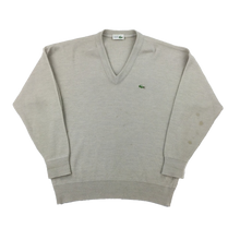 Load image into Gallery viewer, Lacoste V-Neck Sweatshirt - Large