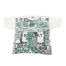 Load image into Gallery viewer, Replay 90's Graphic T-Shirt - Medium