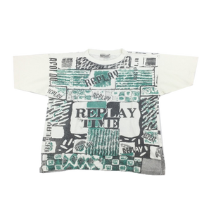 Replay 90's Graphic T-Shirt - Medium