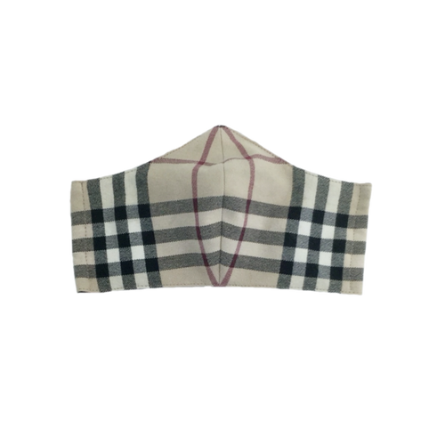 Burberry Nova Check Face Mask