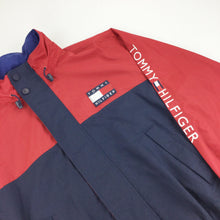 Load image into Gallery viewer, Tommy Hilfiger Spellout Sleeve Logo Jacket - XL