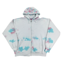 Load image into Gallery viewer, Champion 90s Tie Dye Zip Hoodie - Large
