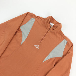 Adidas 1/4 Zip Fleece Sweatshirt - Women/Medium