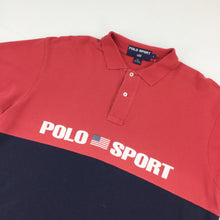 Load image into Gallery viewer, Ralph Lauren 90's 'Polo Sport' Polo Shirt - Large