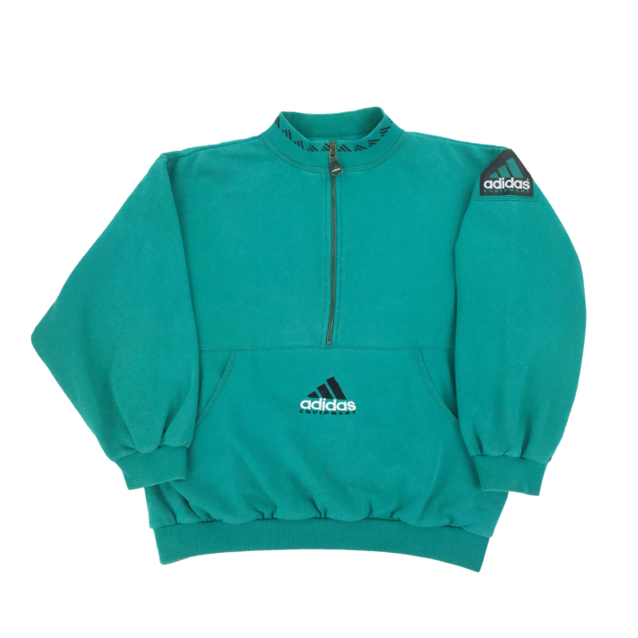 Adidas Equipment 1/2 Zip Sweatshirt - Large