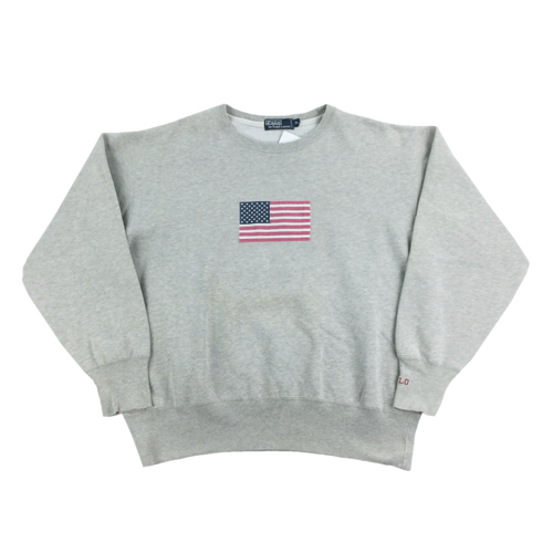 Ralph Lauren Flag Sweatshirt - Medium