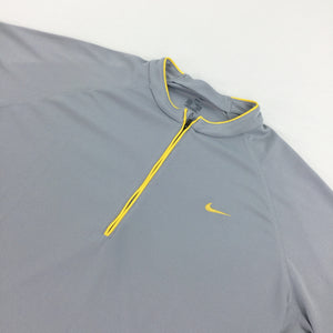 Nike 1/4 zip sport T-Shirt - Medium
