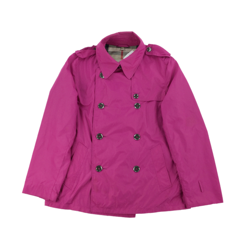 Burberry Pink Coat - Woman/Large