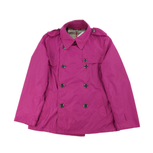 Burberry Pink Coat - Women/Large