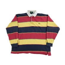 Load image into Gallery viewer, Fred Perry 90s Rugby Jersey - XL