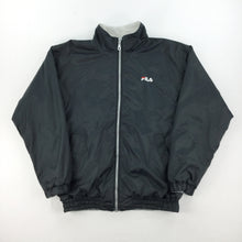 Load image into Gallery viewer, Reversible Fila Fleece Jacket - Large