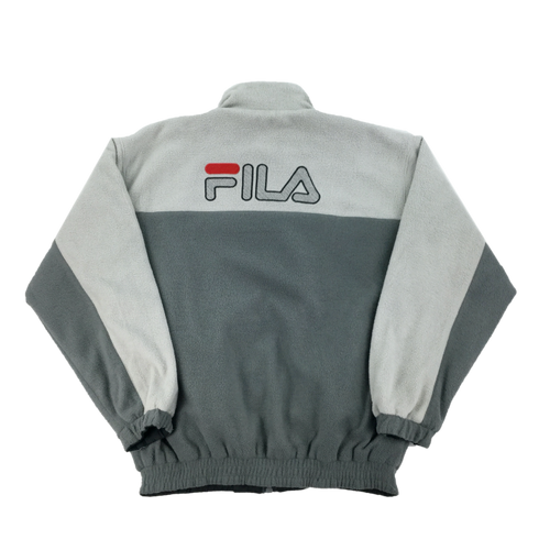 Reversible Fila Fleece Jacket - Large