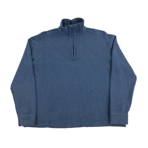 Ralph Lauren 1/4 Zip Sweatshirt - Medium