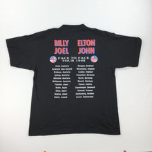 Load image into Gallery viewer, Elton John & Billy Joel 1998 T-Shirt - Large