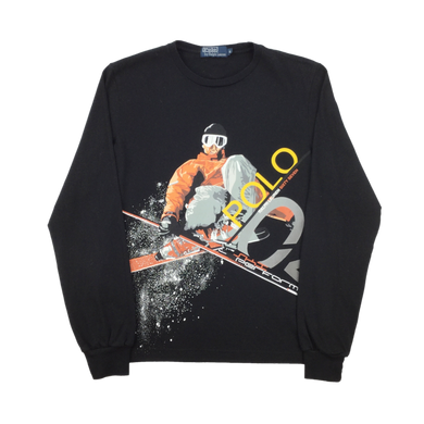 Ralph Lauren Polo Ski 2004 longsleeve T-Shirt - Small