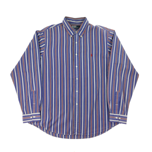 Ralph Lauren Blue Striped Shirt - XL