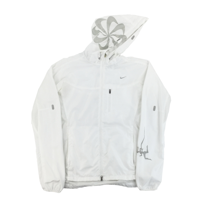 Nike Circle Logo light Jacket - Womans/Small