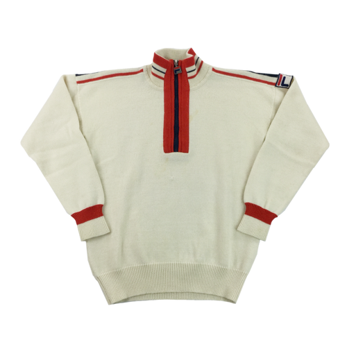 Fila 80s 1/4 Zip Sweatshirt - Medium