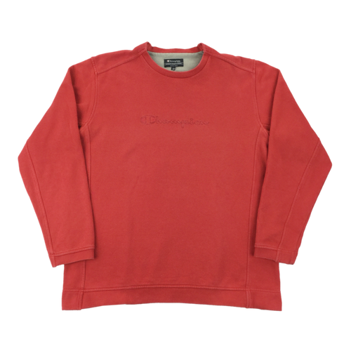 Champion Spellout Sweatshirt - XL