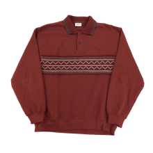 Load image into Gallery viewer, Kingfield Polo Sweatshirt - XL
