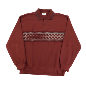 Kingfield Polo Sweatshirt - XL
