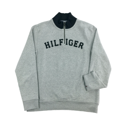 Tommy Hilfiger 1/4 Zip Sweatshirt - Medium