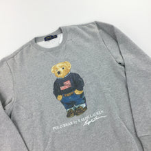 Load image into Gallery viewer, Ralph Lauren Polo Bear Sweatshirt - XL