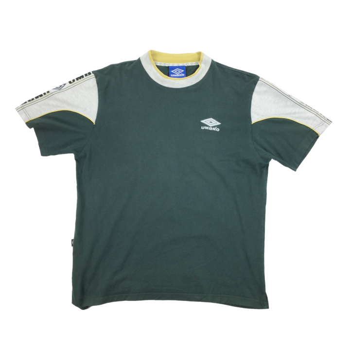 Umbro 90's Sleeve Logo T-Shirt - Large