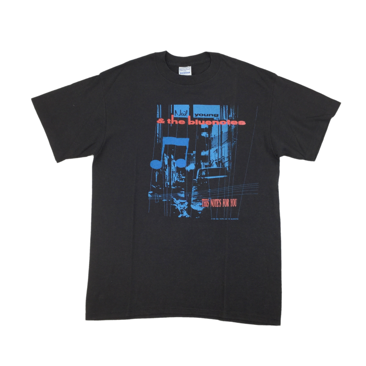 Neil Young & The Bluenotes 1988 Tour T-Shirt - XL