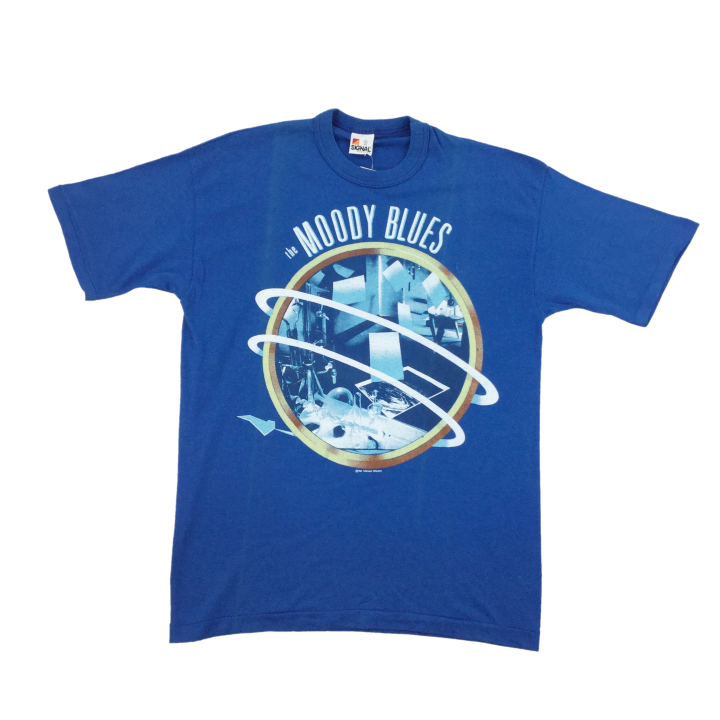 The Moody Blues 1986 Fan Merchandise T-Shirt - XL