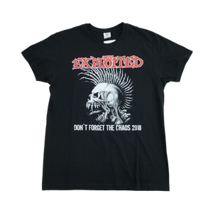 The Exploited Tour T-Shirt 2018 - Large