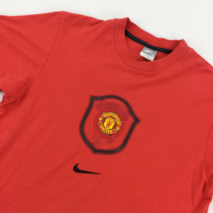 Nike Manchester United Logo T-Shirt - Women/Large